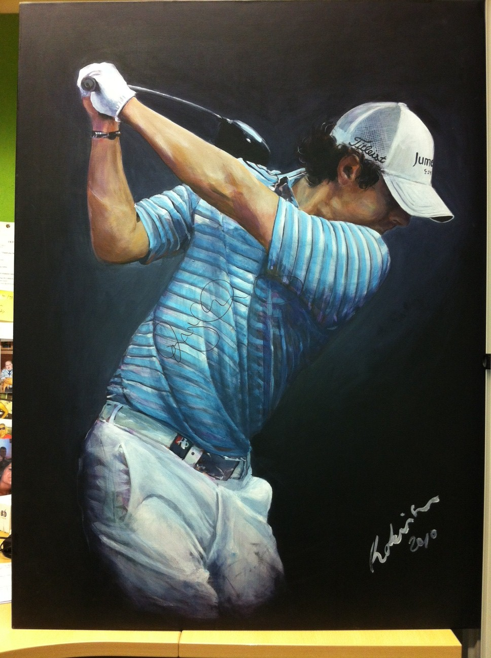 ... Childrens christmas wish list rory mcilroy's only gone and